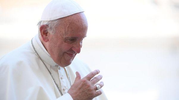Papa: pensioni d'oro, offesa al lavoro