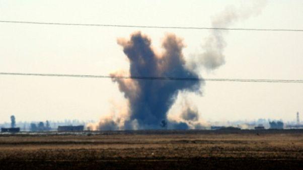 Syrie: 30 civils tués dans des frappes contre un secteur tenu par l'EI