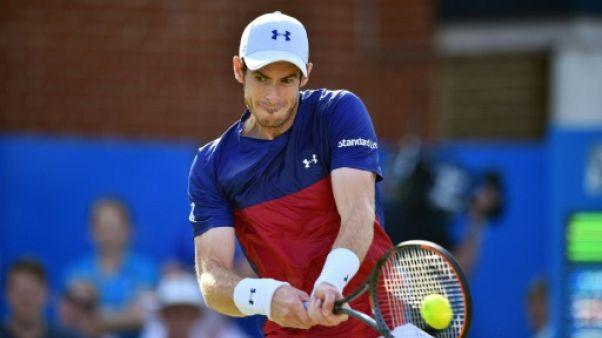 Wimbledon: Murray tête de série N.1, devant Djokovic et Federer