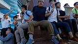Hong Kong protesters arrested for democracy protest ahead of Xi's visit