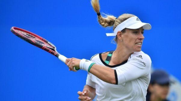 Tennis: Kerber renoue avec la victoire contre Pliskova à Eastbourne