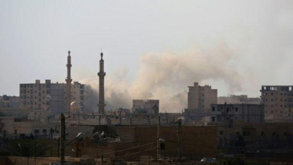 """Syrie: près de 100.000 civils """"pris au piège"""" à Raqa, selon l'ONU"""