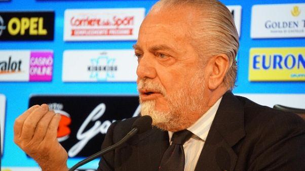 De Laurentiis, Sarri resta altri 3 anni
