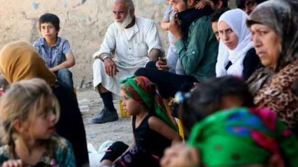 A Raqa, des enfants ouvrent la voie aux adultes pour fuir les jihadistes