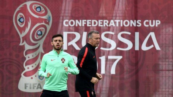 Coupe des Confédérations: le Portugais Bernardo Silva titulaire face au Chili