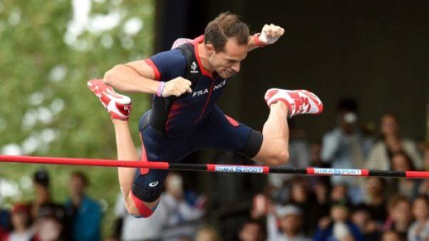 Athlétisme: Lavillenie bloqué à 5,51 m au meeting de Nancy, mais rien d'inquiétant