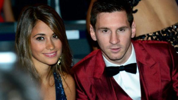 La star Messi épouse la discrète Antonella, amour d'adolescence