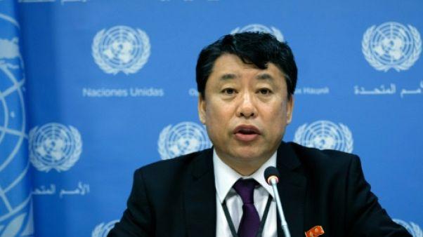 Pyongyang s'en prend à Washington dans une rare allocution à l'ONU