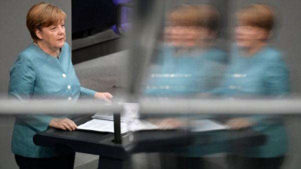 Angela Merkel appelle les anti-G20 à manifester dans le calme