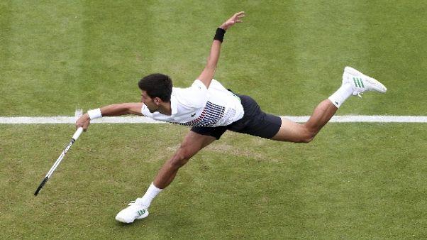 Tennis:Eastbourne,Djokovic in semifinale