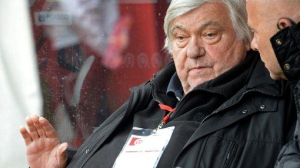 """Montpellier pleure """"Loulou"""" Nicollin, le Pantagruel du foot français"""