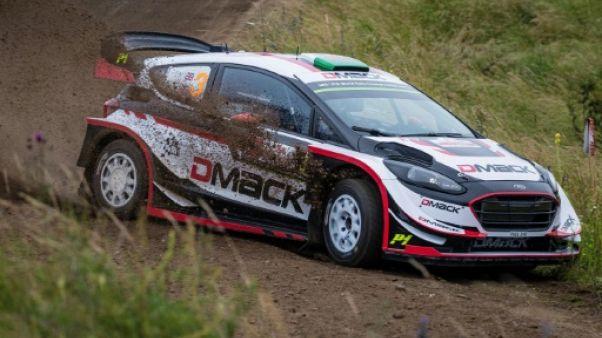 Rallye de Pologne: Evans (M-Sport/Ford) en tête après la première spéciale