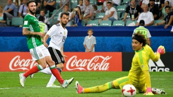 Coupe des Confédérations: l'Allemagne bat le Mexique 4-1 et rejoint le Chili en finale