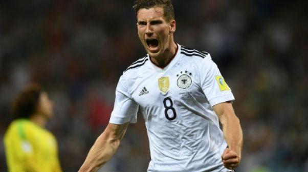 Coupe des Confédérations: l'Allemagne croque le Mexique et file en finale