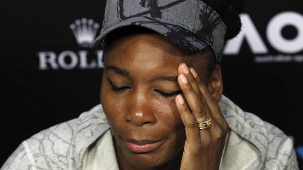 Tennis: guai V. Williams, incidente auto