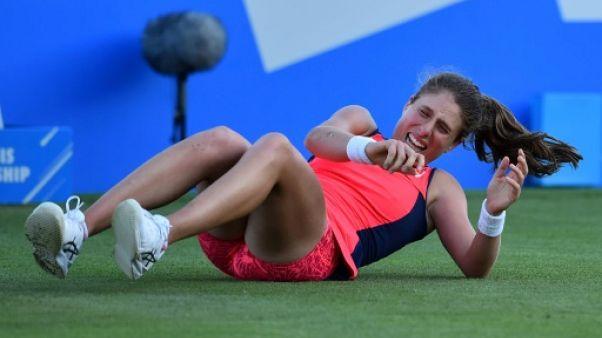 Tennis: forfait de Konta, Karolina Pliskova en finale d'Eastbourne