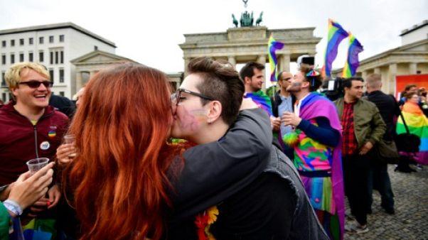 """Mariage gay en Allemagne: """"un vote pour l'amour"""""""
