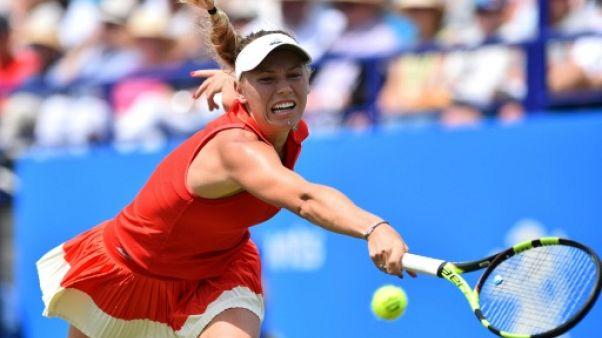 Tennis: Wozniacki rejoint Pliskova en finale à Eastbourne