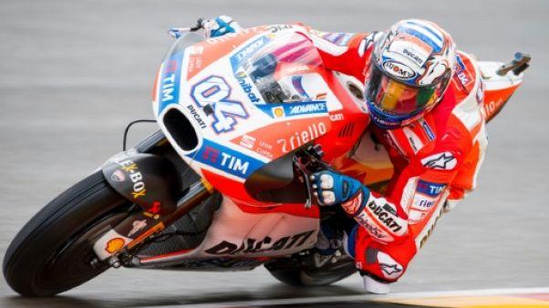 Moto: Dovizioso (Ducati) toujours devant aux essais libres du GP d'Allemagne