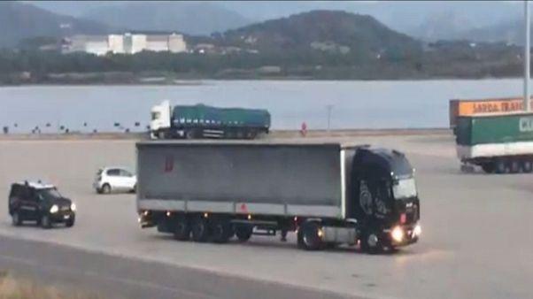 Pili, ancora bombe partite da Sardegna