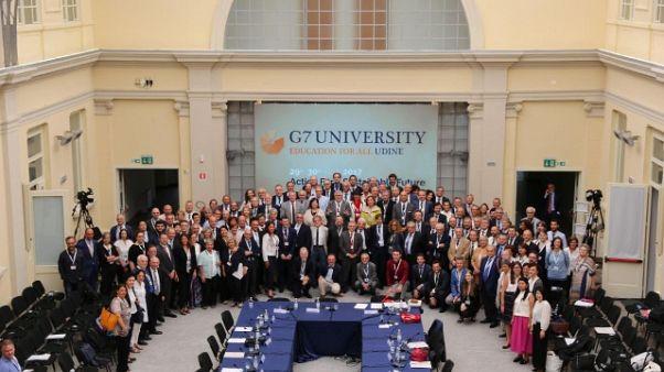 G7 Università: diffondere formazione