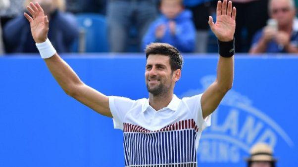 """Tennis: Djokovic s'attend à un Monfils """"imprévisible"""" en finale à Eastbourne"""
