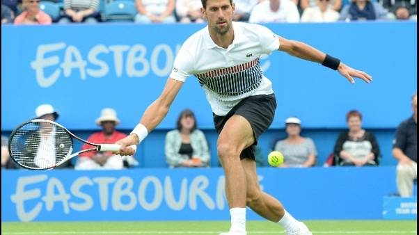 Tennis: Djokovic in finale ad Eastbourne