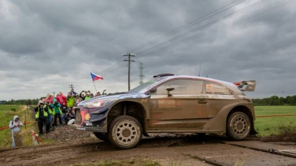 Rallye de Pologne: Neuville (Hyundai) termine la première journée en tête