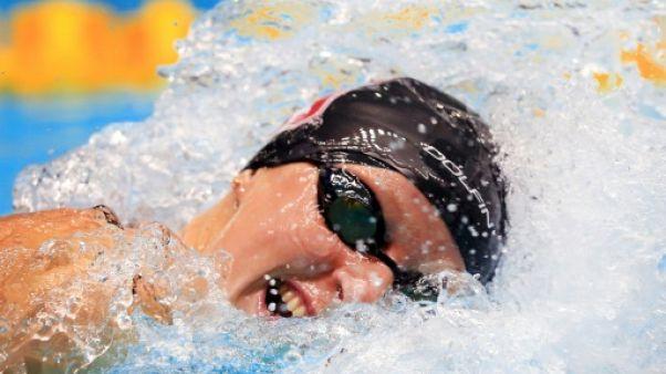 Natation: Ledecky sans rivale sur 400 m aux Championnats des Etats-Unis