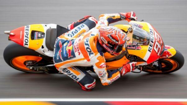 Moto: Marquez (Honda) à l'aise aux essais libres 3 du GP d'Allemagne