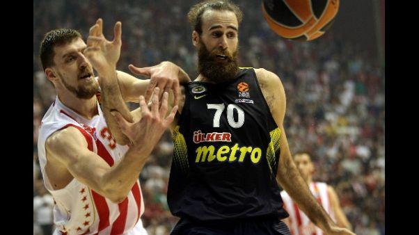 Basket: Olbia festeggia Gigi Datome