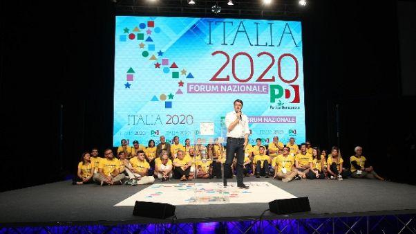 Renzi,fuori da Pd c'è sconfitta sinistra