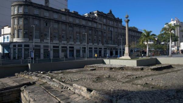 La porte d'entrée des esclaves au Brésil rouverte au nom du patrimoine