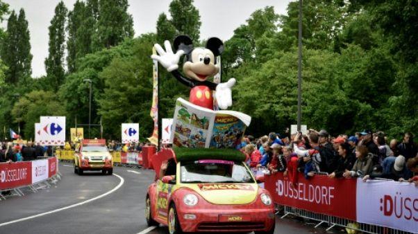 Tour de France: la 104e édition commence sous la pluie à Düsseldorf