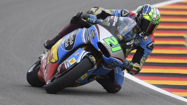 Gp Germania: Morbidelli pole in Moto2
