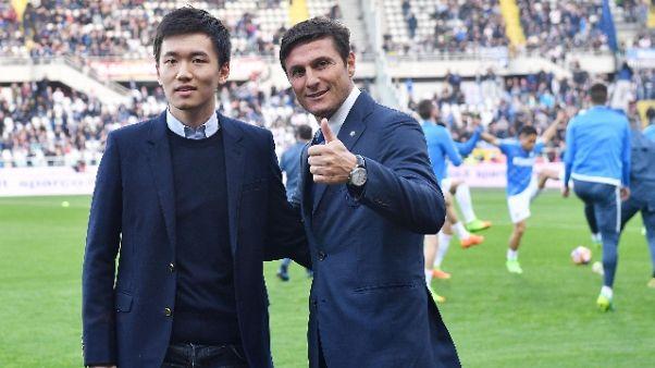 Zanetti, Suning vuole far crescere Inter