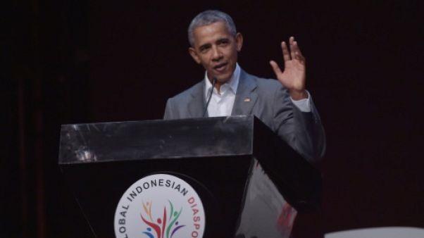 Obama appelle à la tolérance à Jakarta, où il a passé une partie de son enfance