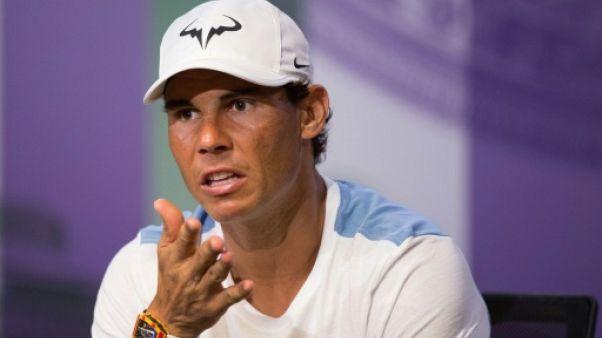 Wimbledon: Nadal pense au titre s'il ne se fait pas piéger au début du tournoi