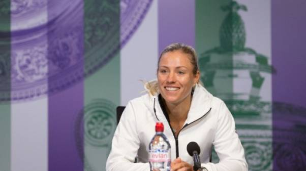Wimbledon: Kerber veut oublier sa saison manquée sur terre battue