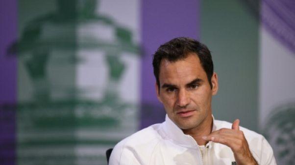 Wimbledon: Federer estime que ses principaux rivaux sont en forme