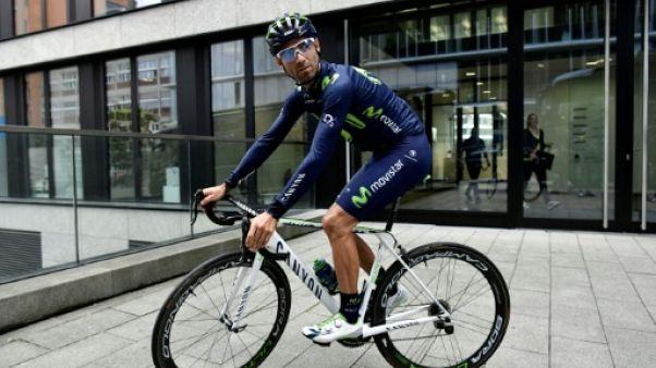 Tour de France: Valverde contraint à l'abandon dès la 1ère étape