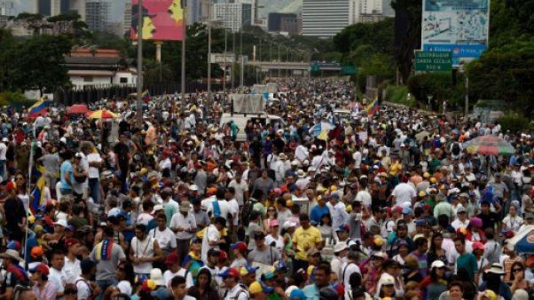 Venezuela: l'opposition marque dans la rue trois mois de manifestations