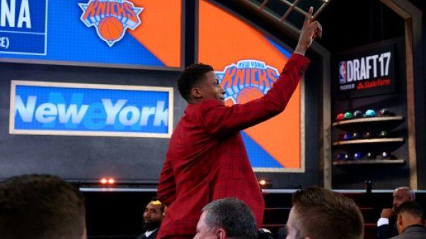 NBA: les débuts de Ntilikina aux  Knicks retardés