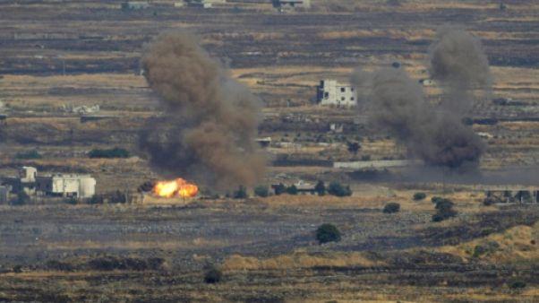 Israël frappe une position de l'armée en Syrie