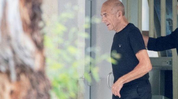 Israël: Ehud Olmert, ancien Premier ministre, libéré de prison