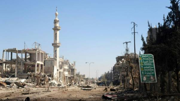 Syrie: attentat suicide à Damas, des morts et des blessés