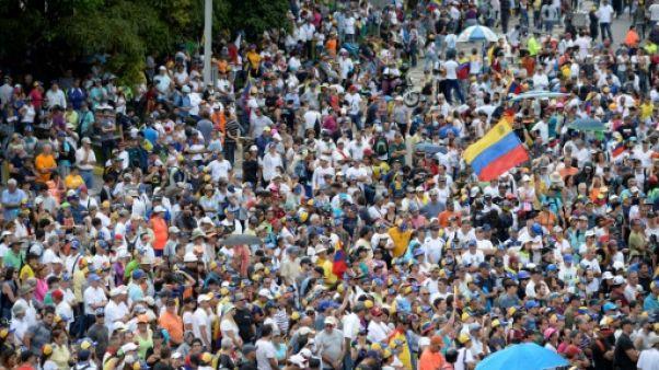 Venezuela: l'opposition marque dans la rue 3 mois de manifestations
