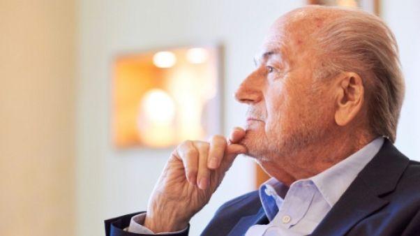 Blatter regrette d'être resté si longtemps à la tête de la FIFA