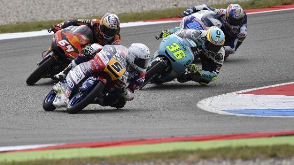 Moto3, Germania vince Mir, 2/o Fenati