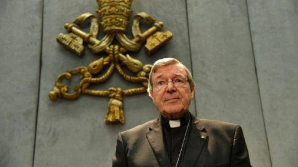 Des Australiens créent un fonds pour aider le cardinal Pell